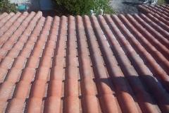 demoussage de toiture  84250  Le Thor